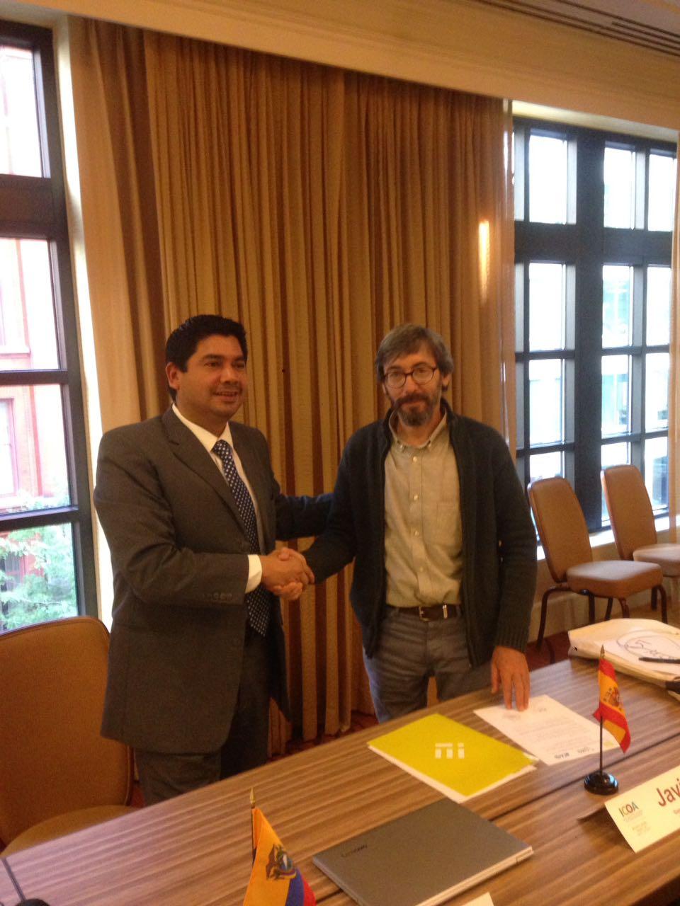 La Comisión Interamericana de Agricultura Orgánica (CIAO) e INTERECO firman un convenio Marco para profundizar en el conocimiento de los sistemas de certificación pública de producción ecológica