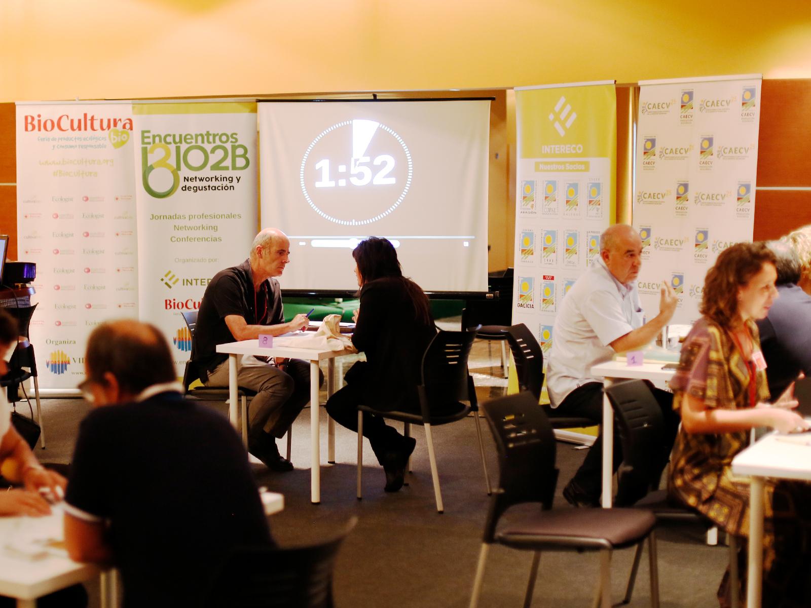 Las Ecotiendas a debate en el 4º  Encuentro Bio2B en BioCultura  Valencia