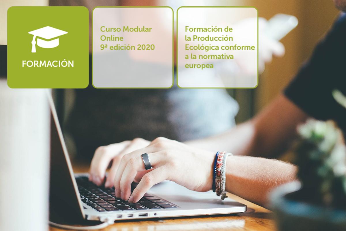 9ª Edición curso Formación de la producción ecológica conforme a la normativa europea