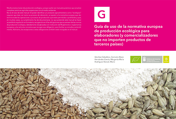 Guía de Uso de la Normativa Europea de Producción Ecológica para Elaboradores