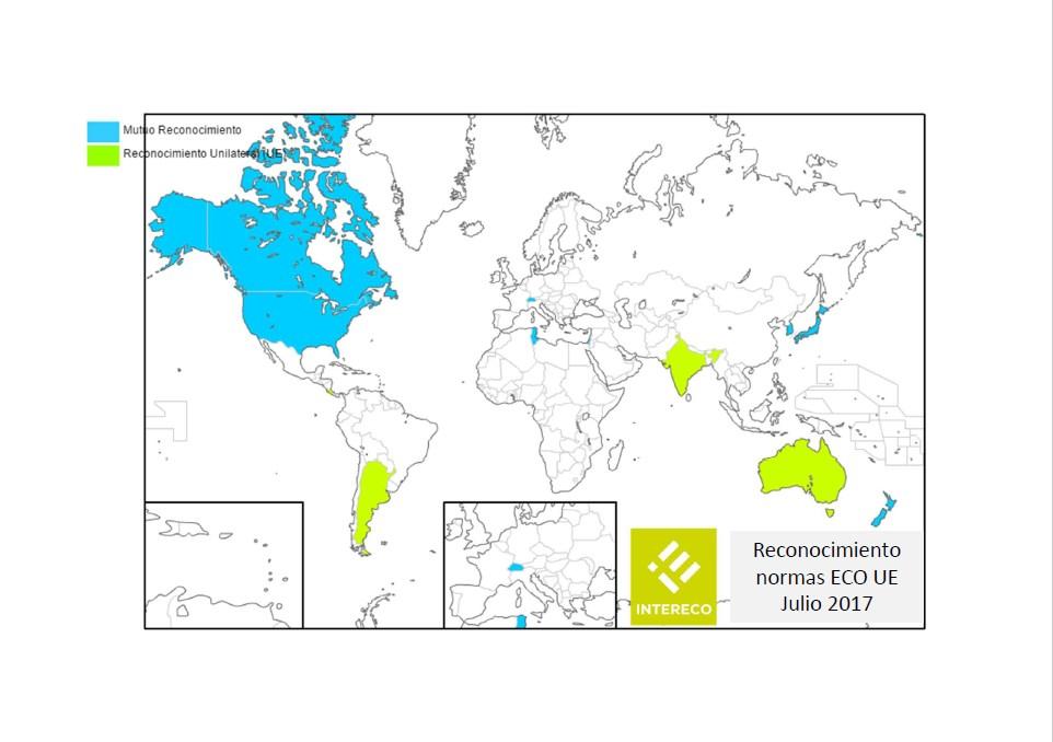 Reconocimiento de la las normas ECO UE julio 2017