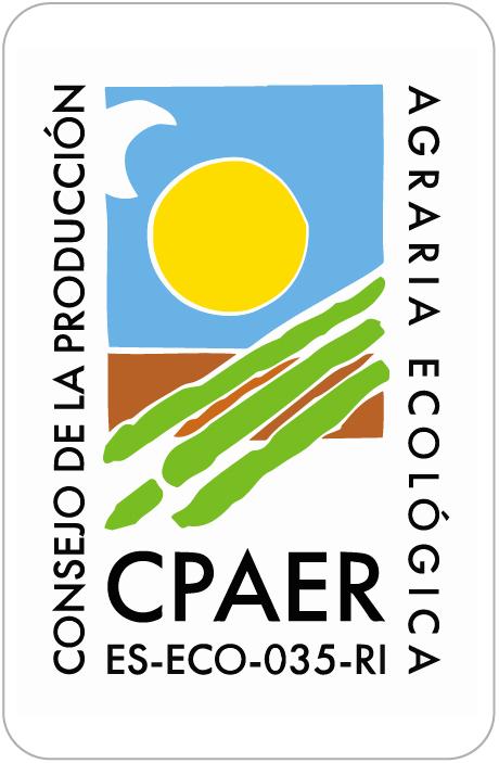 logotipo del Consejo de la Producción Agraria Ecológica de La Rioja