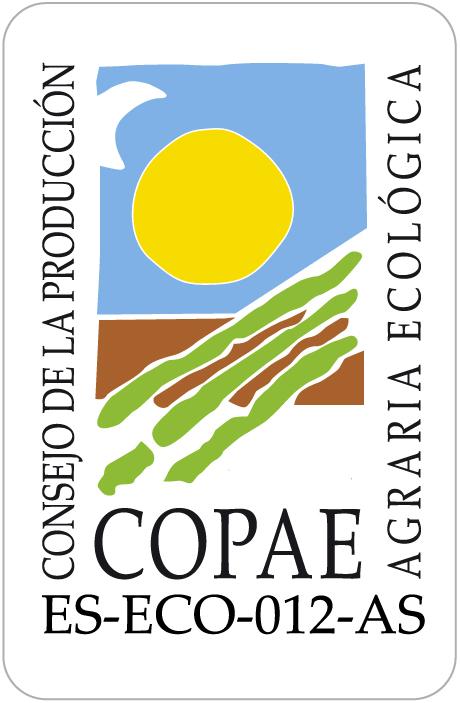 logotipo del Consejo de la Producción Agraria Ecológica Principado de Asturias
