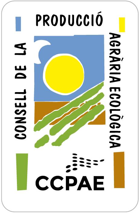 logotipo del Consell Català de la Producció Agrària Ecològica
